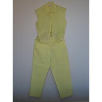Traje 2 Piezas Pantalon Y Blusa - Delicado Set
