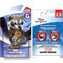 Juego Disney Infinity Rocket Racoon Y Disc Power Pack