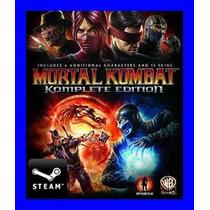 Mortal Kombat Komplete Edition Steam Gift Juego Pc Original