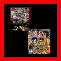 J-stars Victory Vs+ - Saint Seiya Brave Soldiers Ps3 Pack