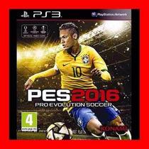 Pro Evolution Soccer 2016 Ps3 Oferta !!!