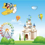 Adhesivo Para El Dormitorio: Mickey Mouse