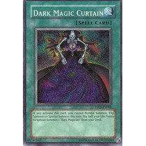 Carta Yugioh! Dark Magic Curtain