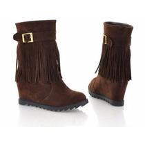 Zapato-zapatilla Plataforma Color Cafe 36/37/38 (eco)