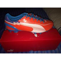 Oferta Zapato De Futbol Puma Evo Speed I Light Fit Flex