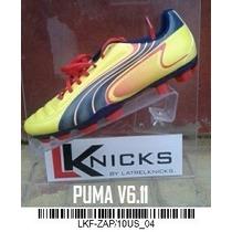 Puma V6.11 Amarillo N°10.5 Us - 9.5 Uk - 44 Eur - 28.5 Cm