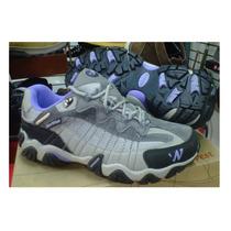 Zapatillas Outdoor Dama Norwest Waterproof Sin Caña 35 Al 40