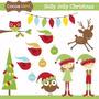 Kit Imprimible Navidad Clipart Imagenes Cod 128 | KITIMPRIMIBLE_CL