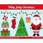 Kit Imprimible Navidad Clipart Imagenes Cod 129 | KITIMPRIMIBLE_CL