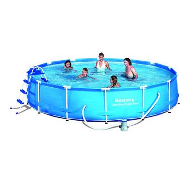 Piscina estructural circular 457x91cm 56434 249990 tdsm9 for Precio piscina bestway