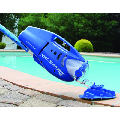 Limpia piscina grande port til pool blaster max bater a for Piscina portatil grande