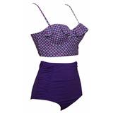 Purpure Rain bikini