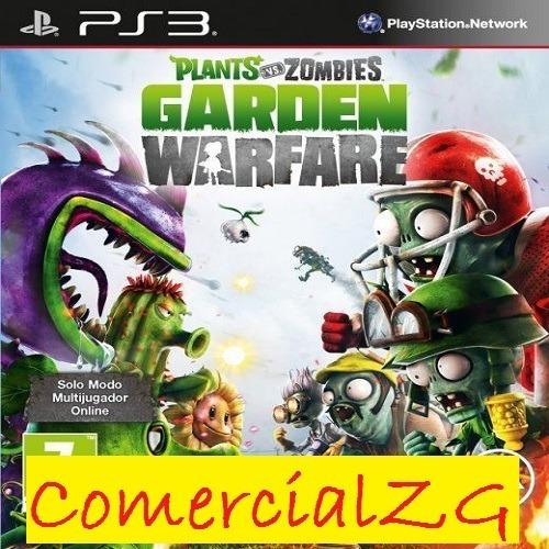 Plants Vs Zombies  Ps3 Oferta Navidad - Comercial Zg