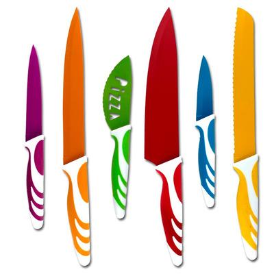 cuchillos acero inoxidable cerámica pelador