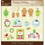 Kit Imprimible Navidad Clipart Imagenes Cod 127 | KITIMPRIMIBLE_CL